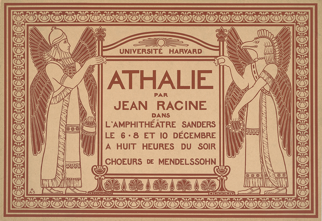 Athalie Poster 1897