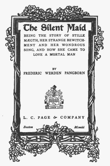 Silent maid title page